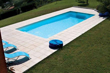 modern Pool by Fabistone