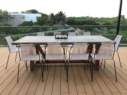 terraza: Terrazas de estilo  por Ecologik