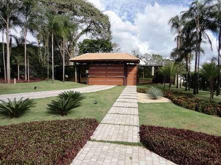 Casa de Campo: Jardins campestres por Guilherme Elias Arquiteto