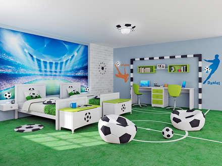 modern Nursery/kid's room by lo quiero en mi casa