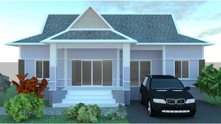 บ้าน 1ชั้น :  บ้านและที่อยู่อาศัย by mayartstyle