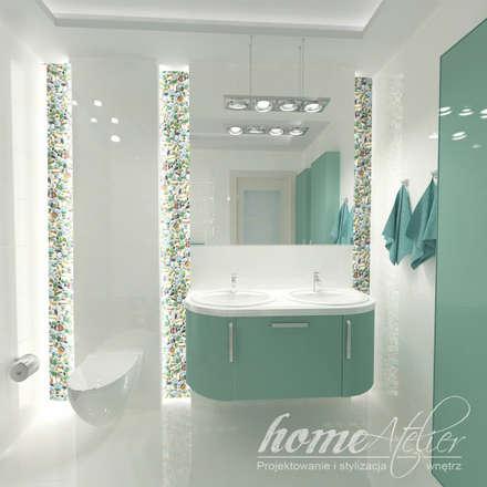 mediterranean Bathroom by Home Atelier
