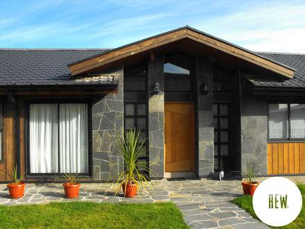 CASA WT: Casas de estilo rural por REW. Arquitectura & Diseño