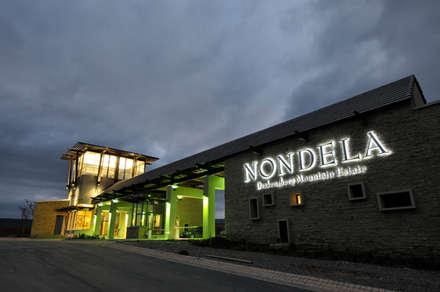 Nondela Gatehouse:  Office buildings by Full Circle Design