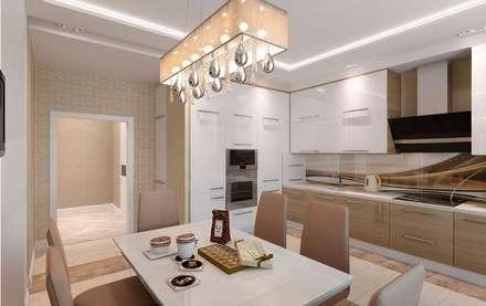 Кухня: Кухни в . Автор – Мастерская дизайна Онищенко Марии
