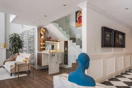Corridor and hallway by MAAD arquitectura y diseño