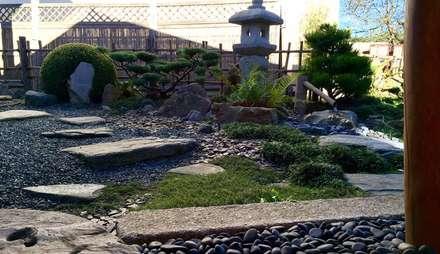 Esprit Zen의  젠 스타일 정원