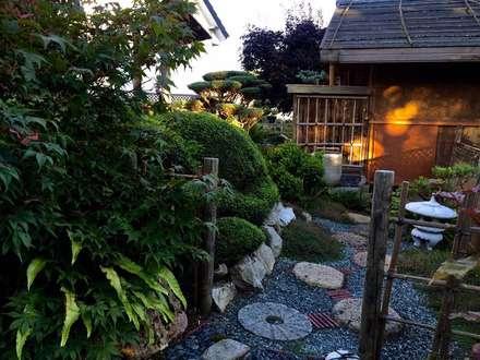 Jardin d'arts et d'essais: Jardin zen de style  par Esprit Zen