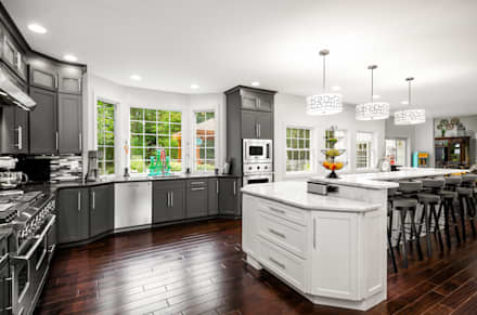 Viking Appliance Award Winning Kitchen: eclectic Kitchen by Main Line Kitchen Design