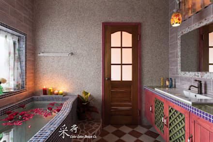 country Spa by 采荷設計(Color-Lotus Design)