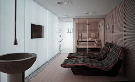 modern Spa by Luisa Fontanella architetto