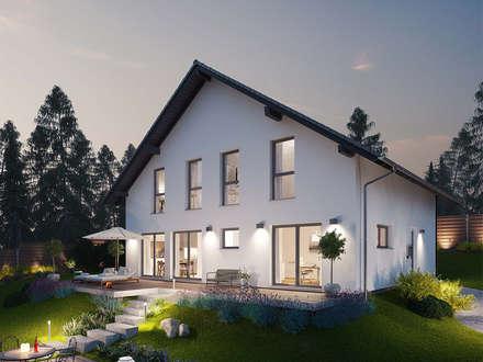 MAXIM - Das Hauskonzept mit der Einliegerwohnung: moderne Häuser von FingerHaus GmbH