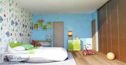 affordable recamara para nio recmaras infantiles de estilo moderno por citlali villarreal u diseo with cortinas para cuarto de nio