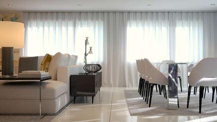 Moradia - Paris , França: Salas de jantar modernas por MyWay design