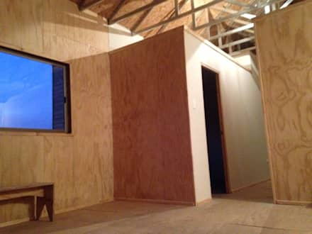 Vivienda Prefabricada 48 m2: Casas de estilo industrial por Estudioeco21