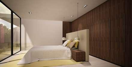 : Dormitorios de estilo minimalista de Zucchero Architects