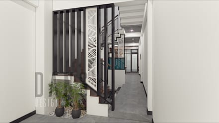 Corridor and hallway by DCOR