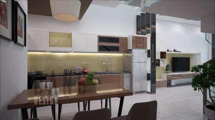 NHÀ LÔ PHỐ:  Nhà bếp by DANG DECOR