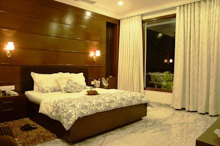Bedroom: Modern Bedroom By VB Design Studio