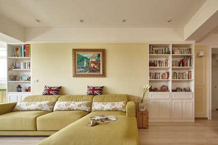 country Living room by 耀昀創意設計有限公司/Alfonso Ideas