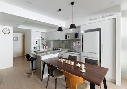 介面延伸 interface extension:  廚房 by 耀昀創意設計有限公司/Alfonso Ideas