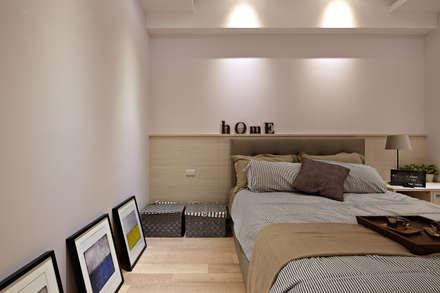 家裡真好 no place like home:  臥室 by 耀昀創意設計有限公司/Alfonso Ideas