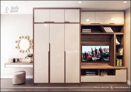 CĂN HỘ TRÀNG AN COMPLEX: Phòng ngủ by ITALIC DECOR