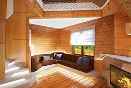 ALTERNATIVAS DIFERENTES PARA EL HOGAR : Salas de estilo clásico por DISEÑOSLA