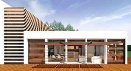 Casa Ginebra JPO: Piscinas de estilo moderno por COLECTIVO CREATIVO