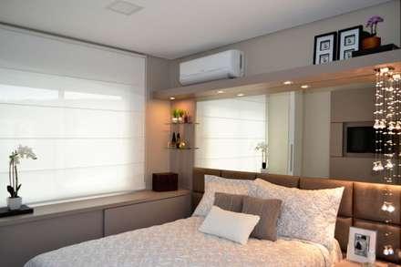 Apartamento Verena: Quartos  por Join Arquitetura e Interiores