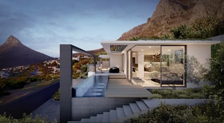 Camps Bay House 2 : Minimalistic Houses By GSQUARED Architects
