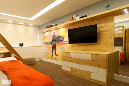 Phòng ngủ by Studio Prima Arq & Design