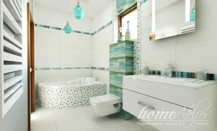 colonial Bathroom by Home Atelier