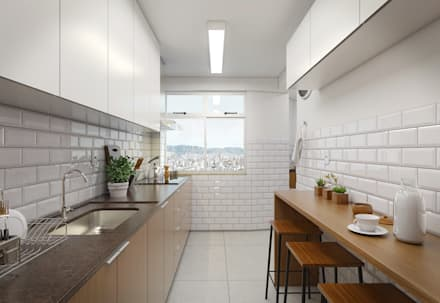 modern Kitchen by Filipe Castro Arquitetura | Design