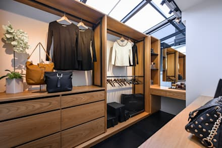 modern Dressing room by 存果空間設計有限公司