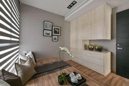scandinavian Bedroom by 存果空間設計有限公司