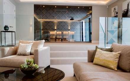 Barnes: Wine Cellar & Cinema Room: modern Wine cellar by Studio K Design
