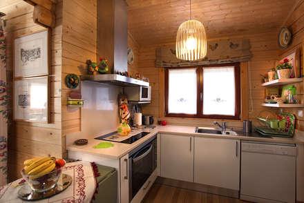 Módulos de cocina de estilo  de Rusticasa