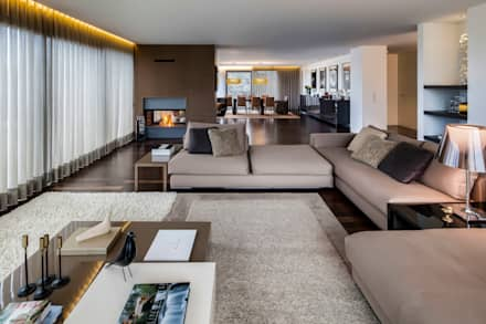 : Salas de estar modernas por INAIN Interior Design
