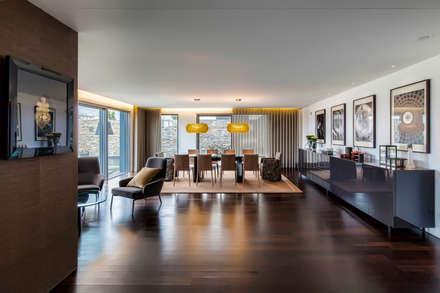 : Salas de jantar modernas por INAIN Interior Design