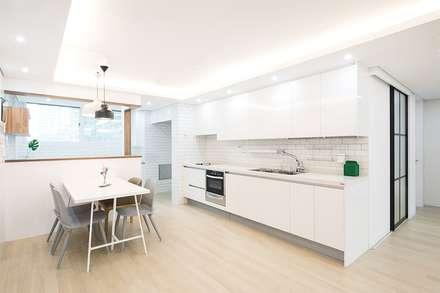 آشپزخانه by 지오아키텍처