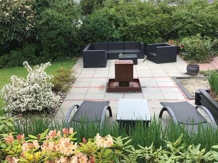 Gartenbrunnen Cortenstahl:  Hotels von Gauger-Design