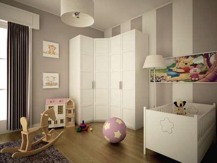 Stanza dei bambini idee immagini e decorazione homify for Idee pareti cameretta neonato
