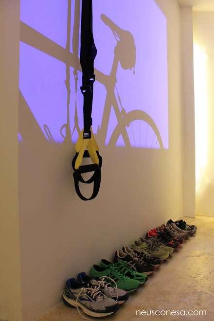 mediterranean Gym by Neus Conesa Diseño de Interiores