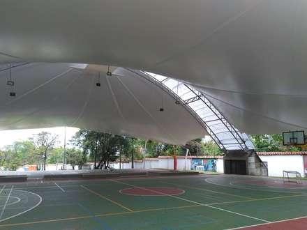 صالة الرياضة تنفيذ Bocanumenth Arquitectura Textil