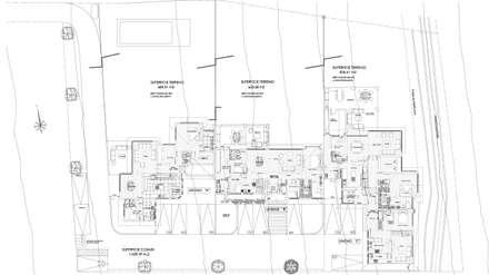 Plano Conjunto: Casas de estilo colonial por Carvallo & Asociados Arquitectos