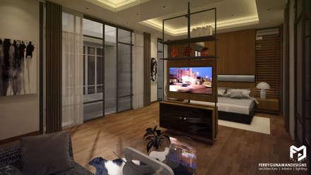 Master Bedroom:  Kamar Tidur by FerryGunawanDesigns