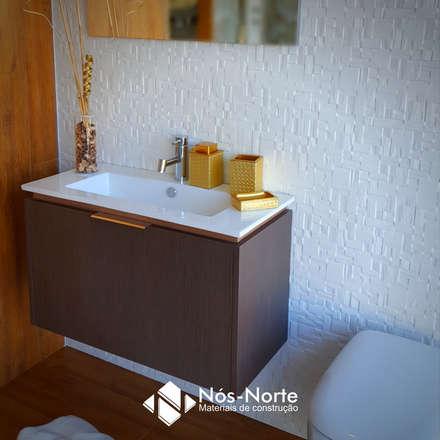 Casa de Banho Nº 9: Casas de banho mediterrânicas por Nós-Norte