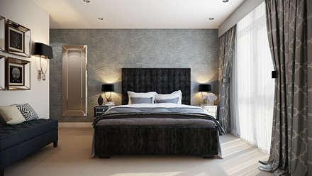 Bedroom: modern Bedroom by Hampstead Design Hub