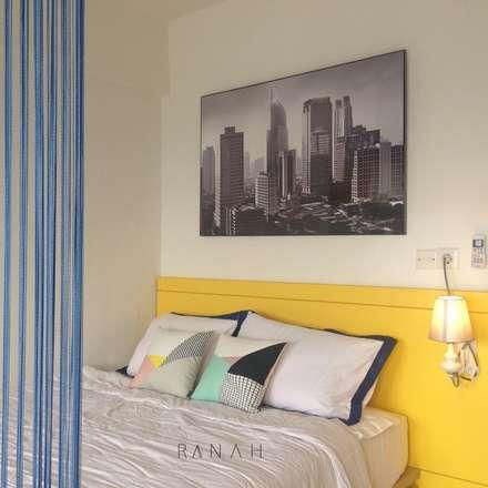 Studio Apartment - Park View Condominium Depok:  Kamar Tidur by RANAH